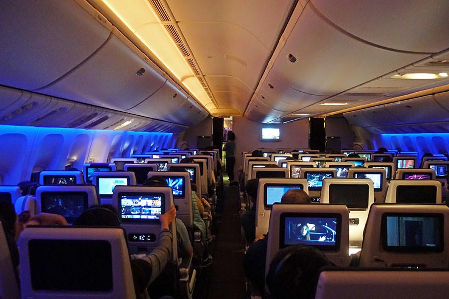 卡達航空 Qatar Airways | QR817 香港HKG ⇒ 杜哈DOH 飛行紀錄