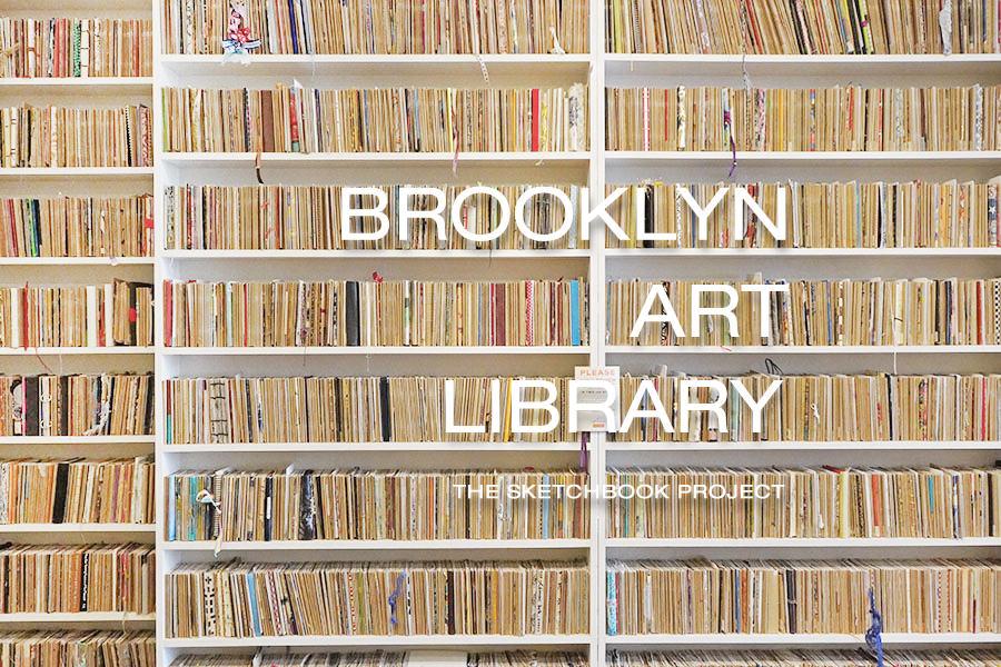 Brooklyn Art Library 紐約威廉斯堡獨立藝術書店,世界思維手工繪本圖書館 Sketchbook Project