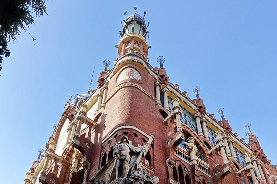 巴塞隆納 Barcelona | 加泰隆尼亞音樂宮 多明尼克建築代表作