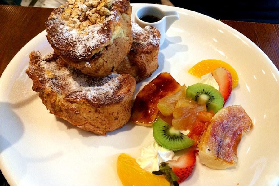 台北東區 | C25 度咖啡館,明星早午餐 超厲害法式吐司!!