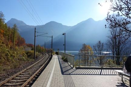 哈修塔特 ⇔ 維也納 往返交通 | 奧鐵 OBB、私鐵 Westbahn 火車搭乘紀錄