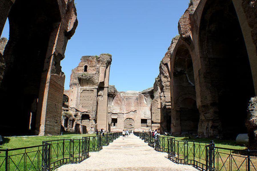 義大利   卡拉卡拉浴場 Terme di Caracalla 現實與想像中的羅馬浴場
