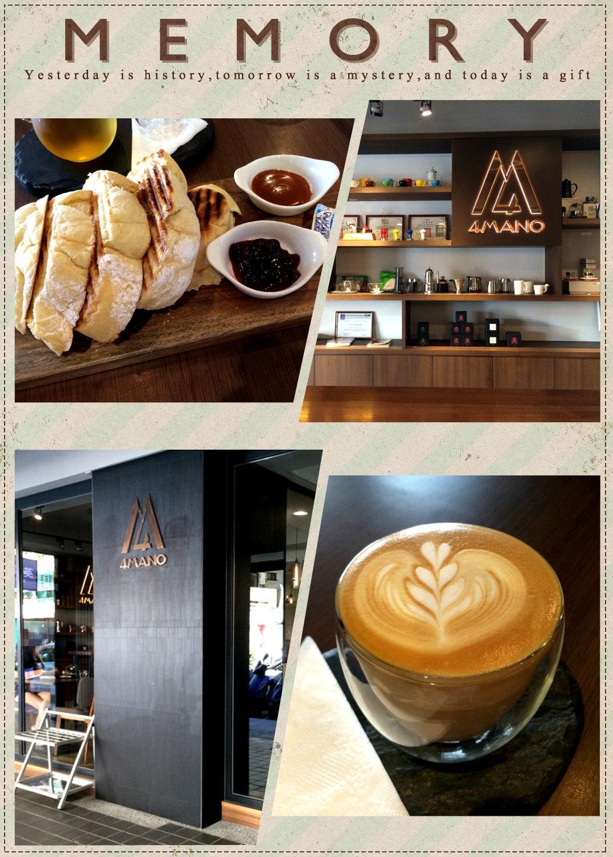 臺北新生 | 4Mano Caffé 來去冠軍咖啡吃早餐 – 披著虎皮的貓