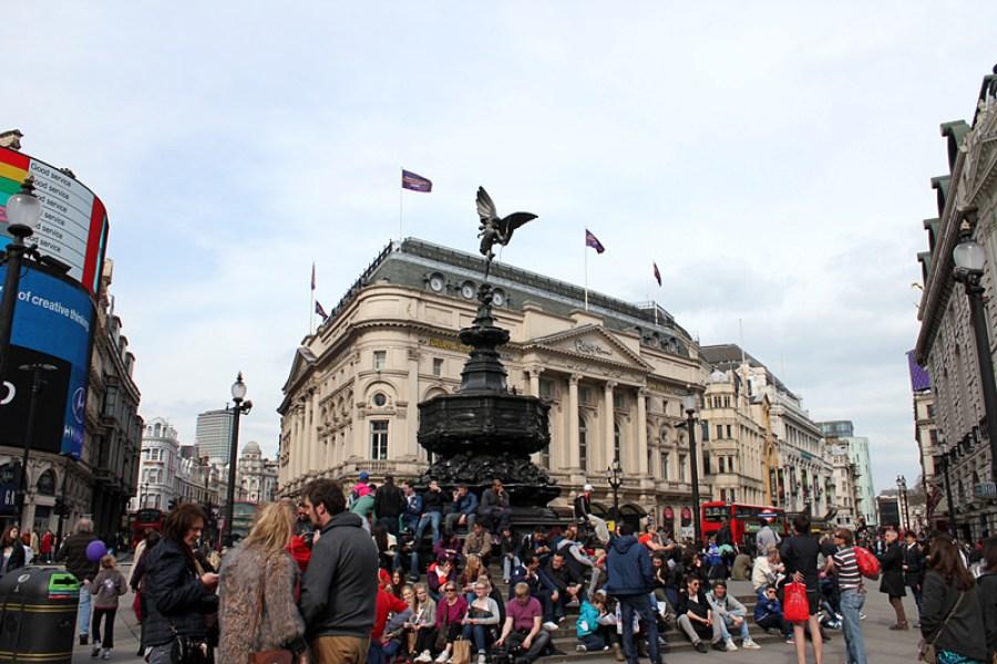 倫敦 London | Piccadilly Circus & Leicester Square 廣場魅力