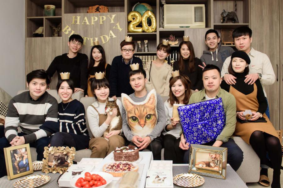 虎皮貓大壽║咪咪20歲生日派對 HAPPY BIRTHDAY!!