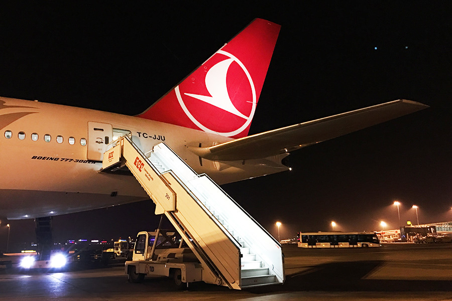 土耳其航空 Turkish Airlines | TK1851 伊斯坦堡IST ⇒ 巴塞隆納BCN 飛行紀錄 機場出境大廳
