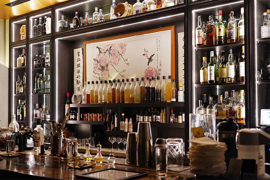 Bar 春花,The Primrose 忠孝新生無酒單創意調酒,台北中式風格酒吧~專注舌尖味蕾的實力派!