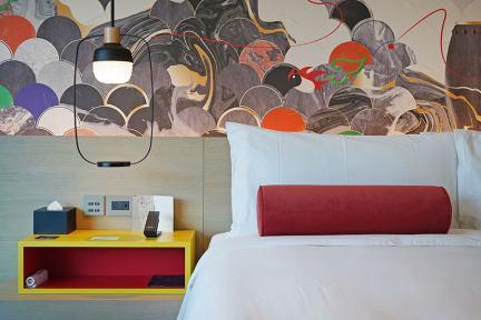 台北大直英迪格酒店 Hotel Indigo Taipei North 巨型海螺建築設計飯店,豪華客房分享