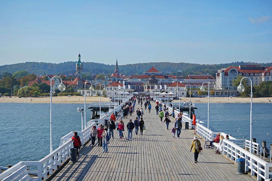 索波特木棧橋 Sopot Molo 歐洲最長木棧橋,愜意的渡假聖地!!