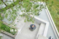 日月潭森林系住宿,積木家 Block House~方塊推疊風格民宿,獨立於世的水泥粉光建築工藝!