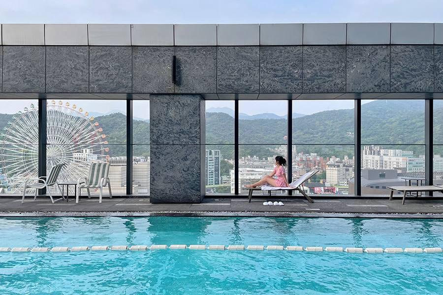 台北萬豪酒店 Marriott Taipei 住進超豪宅天際視野,遠眺大直水岸101~全台首家萬豪!