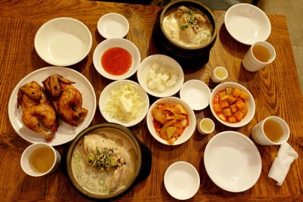 首爾 Seoul   鍾路區 土俗村蔘雞湯 토속촌삼계탕 景福宮美食朝聖之只推雞湯