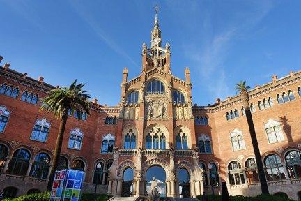 巴塞隆納 Barcelona | 聖十字聖保羅醫院  世界最美醫院