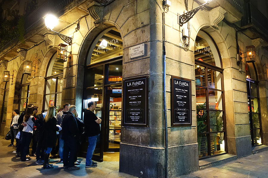 巴塞隆納 Barcelona | La Fonda 平價西班牙海鮮燉飯 Paella