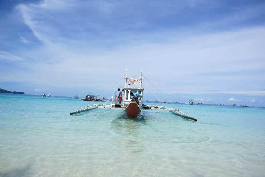 Boracay | 長灘島水上活動:海釣、浮淺、深潛、風帆船、拖曳傘、越野車