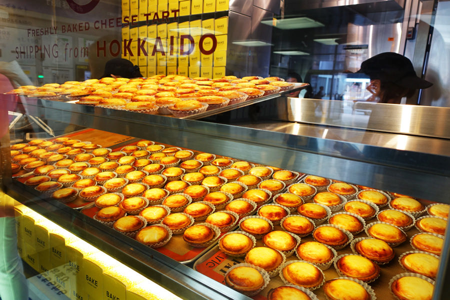 東京新宿 | BAKE CHEESE TART 超濃郁起司塔 LUMINE EST店