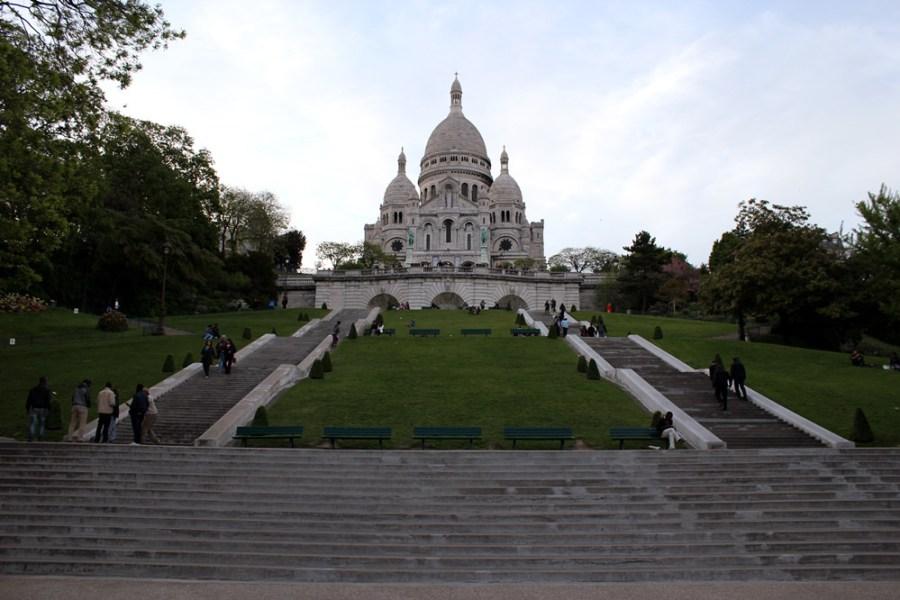 [法國] 巴黎 Paris @ 聖心堂 Basilique du Sacré-Cœur & 蒙馬特藝術村 & Au Clairon des Chasseurs Jazz Restruant