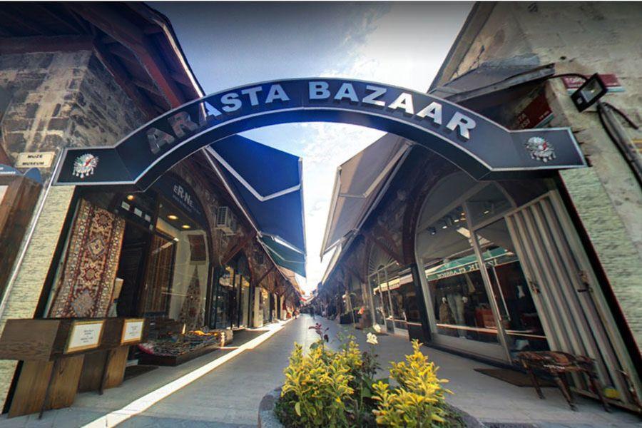 伊斯坦堡 İstanbul ★ 阿拉斯塔市集 Arasta Bazaar 藍色清真寺旁迷你小市集 (土耳其必買清單)