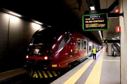 米蘭機場往返市區交通 | 機場快捷 Malpensa Express - 45分鐘抵達米蘭中央車站