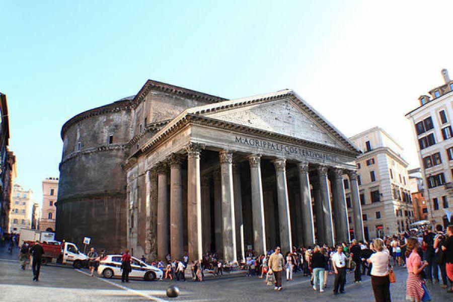 羅馬萬神殿 Pantheon 一窺壯觀的古羅馬神廟式建築