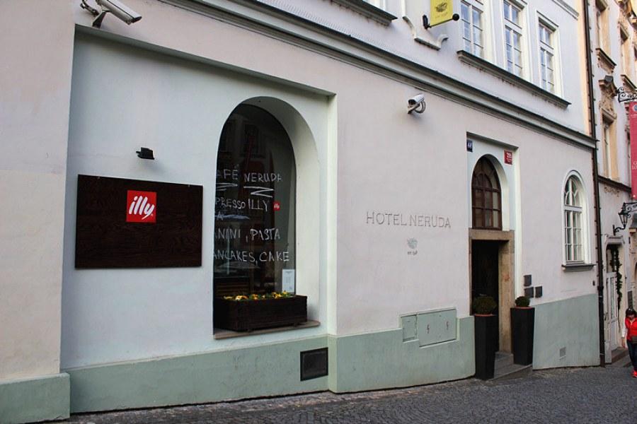 布拉格平價住宿 Design and Style Hotel Neruda, Prague