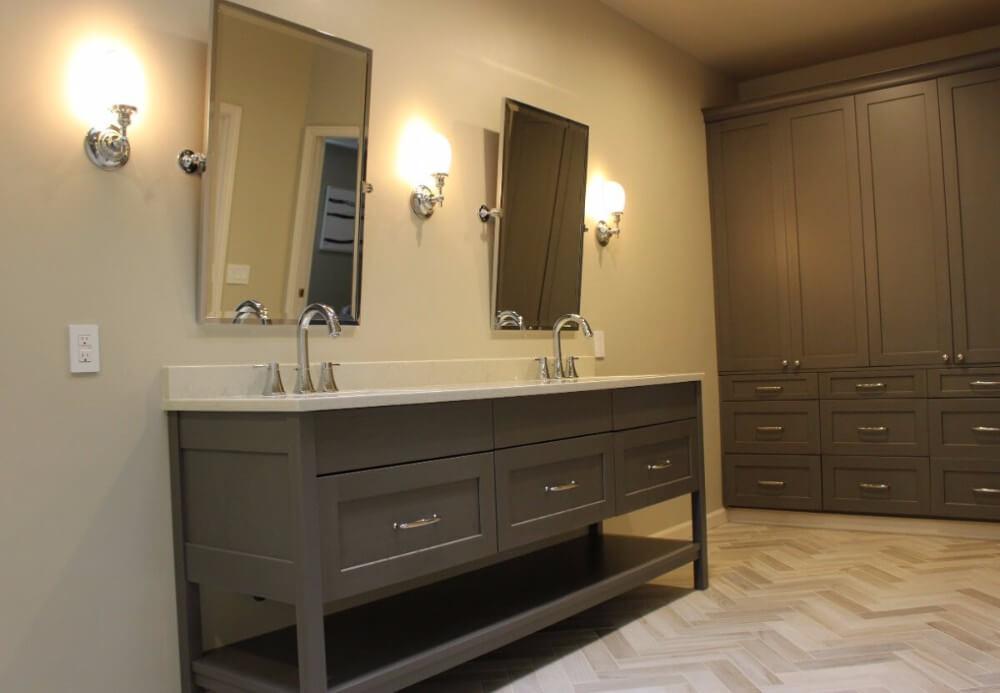 bathroom cabinetry Rainier Cabinetry and Design