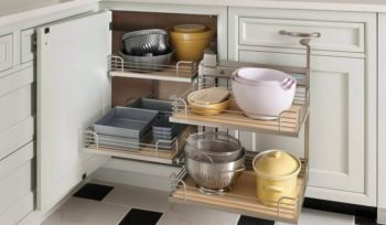 wood-mode custom kitchen cabinetry