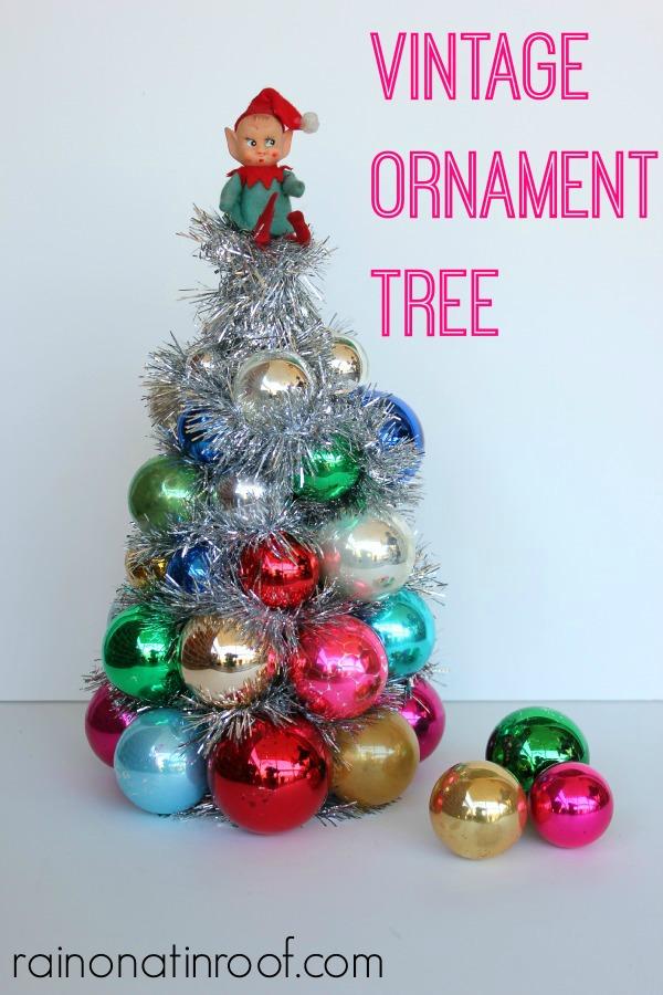 DIY Ornament Tree