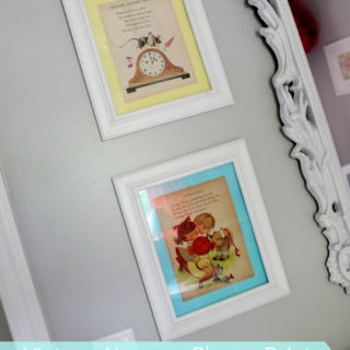 Vintage Nursery Rhyme Prints for Nursery Decor