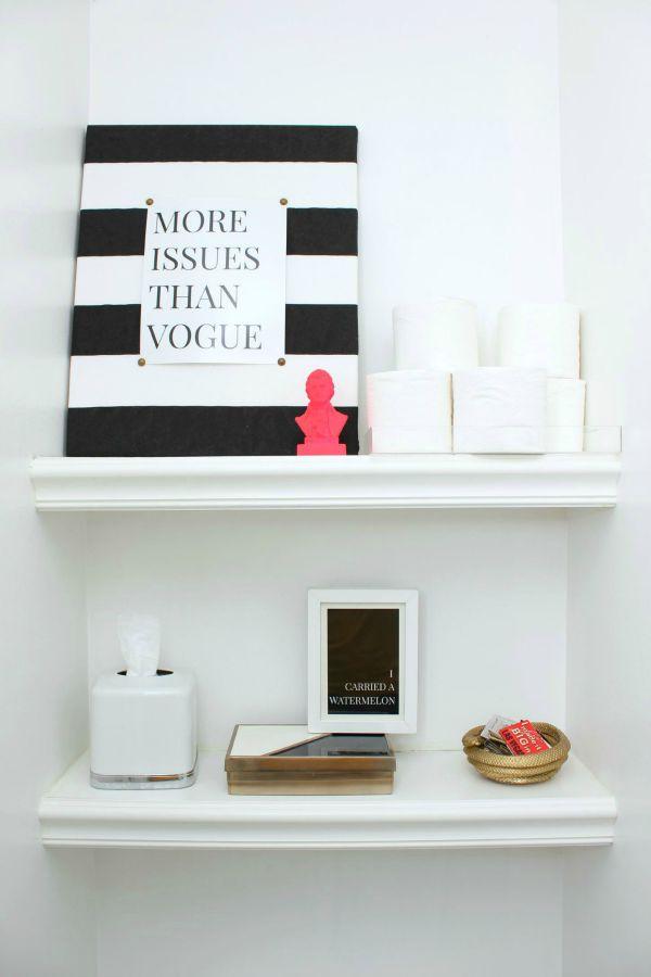 Bathroom Shelf Storage Ideas