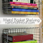Metal Basket Shelving for the Kitchen