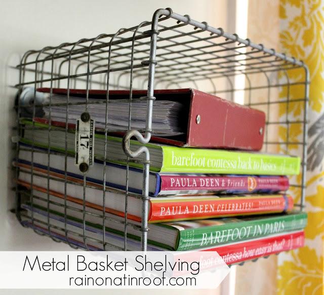 Metal Basket Shelving