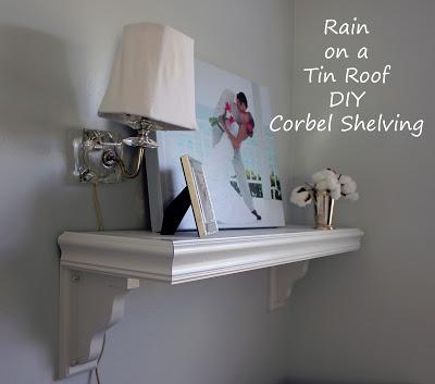 Easy DIY Corbel Shelf