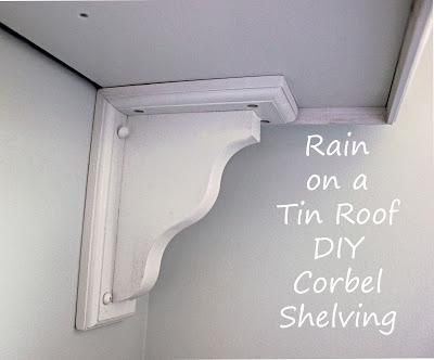 DIY Shelf with Corbel Bracket