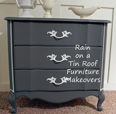Chalk Painted French Country Chest Makeover
