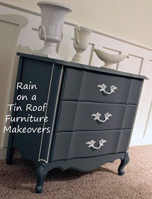 DIY Chalk Paint French Country Chest Makeover