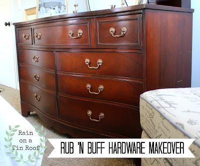 Rub N Buff Hardware Restore