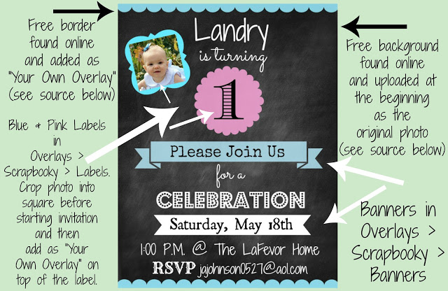 DIY Picmonkey Invitation