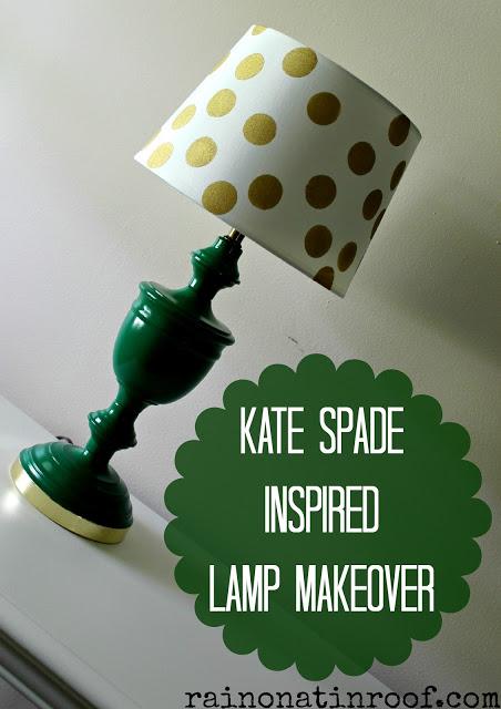 Kate Spade Inspired Lamp