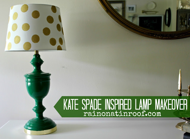 Kate Spade Lamp Makeover
