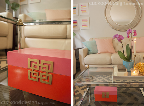 Lilly Pulitzer Inspired Decor
