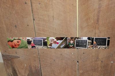 DIY Birthday Number Photo Collage