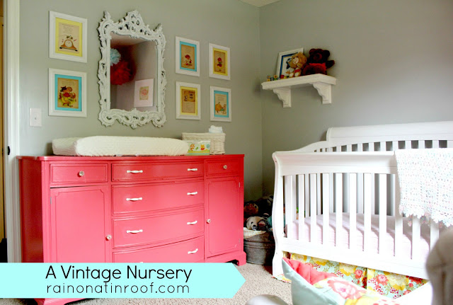 Vintage Inspired Nursery Makeover