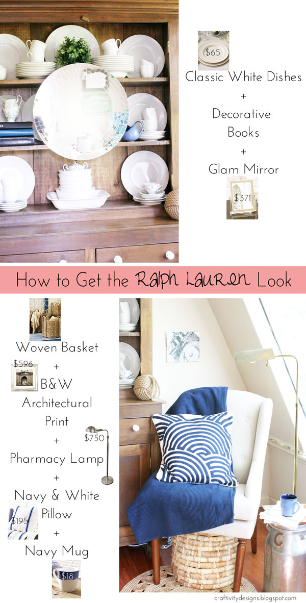 10 Ralph Lauren Inspired Projects {rainonatinroof.com} #ralphlauren