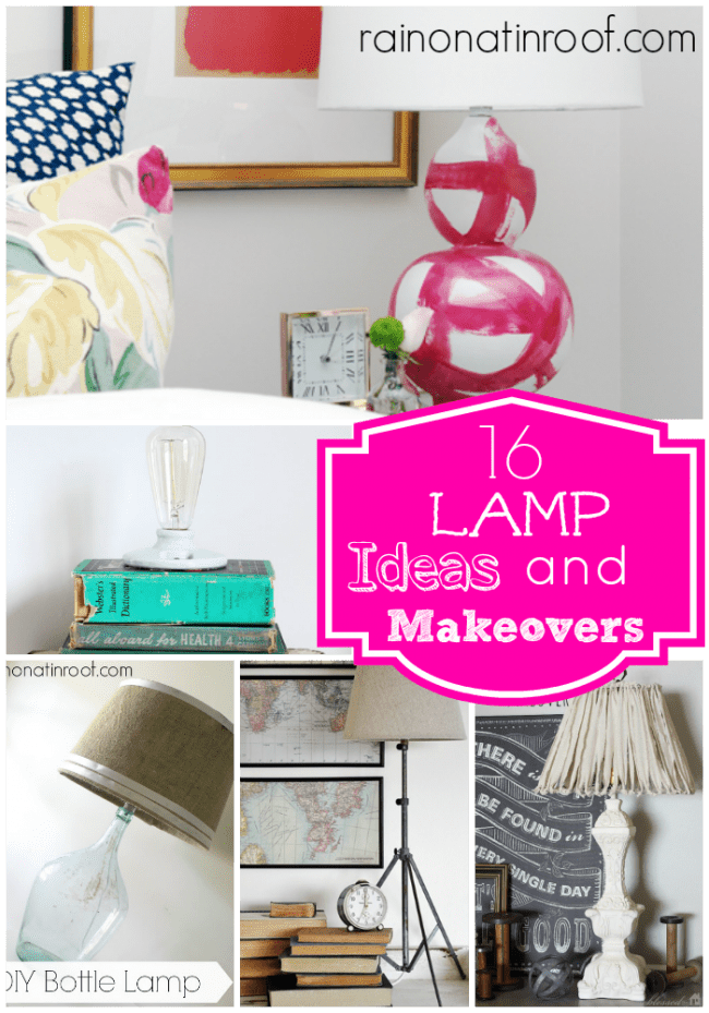 DIY Lamp Ideas and Lampshade Ideas