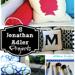 Jonathan Adler Inspired Projects {rainonatinroof.com} #jonathanadler
