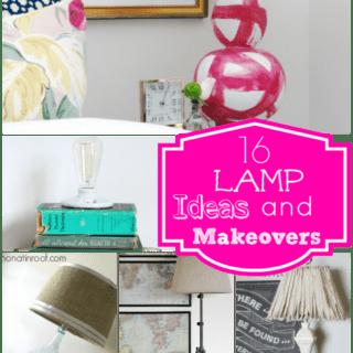 DIY Lamp Ideas and DIY Lampshade Ideas