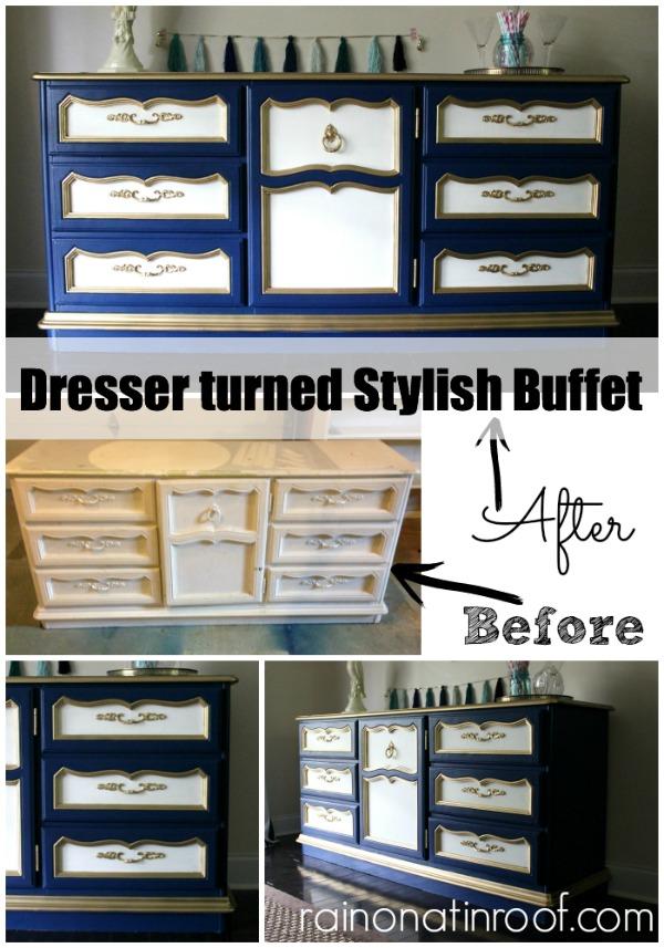 Dresser Makeover | Dresser Makeover DIY | Dresser Redo | DIY Dresser Makeover | Painted Dresser Ideas | Painted Dresser DIY