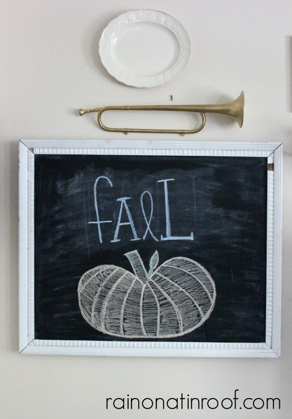 Fall Home Tour {rainonatinroof.com} #fall #tour