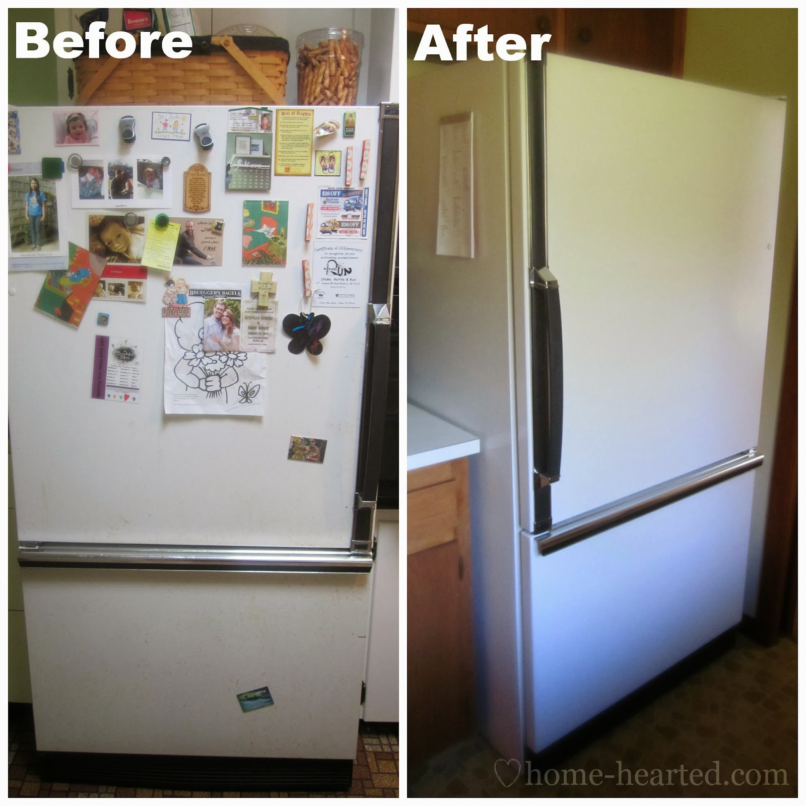 Can You Paint a Refrigerator
